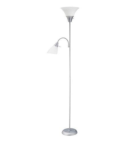 Room Essentials Combo Floor Lamp - Silver
