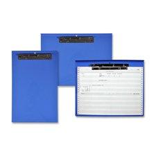 Computer Printout Clipboard, Steel Clamp,11-5/6