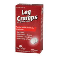 Natra Bio Leg Cramps Relief Tablet - 60 per pack -- 6 packs per (Natra Bio 60 Tabs)