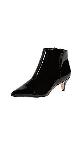 Heel Black Patent Ankle Boot - 4