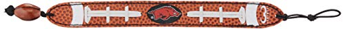 (GameWear CFB Missouri Tigers Classic Football Bracelet, One Size, Black )