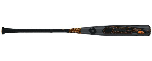 DeMarini CF6 SR (-8) Baseball Bat – 32″/24 oz – Grey/Blaze