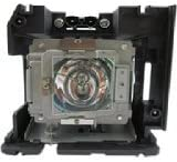 Replacement Lamp with Housing for VIVITEK D5180HD with Osram P-VIP Bulb Inside