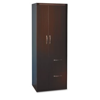 Aberdeen Personal Storage Tower, Box 1 Of 2, 24w x 24d x 68h, Mocha