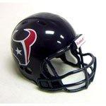 "Houston Texans """"Revolution"""" Style Pocket Pro NFL Helmet"