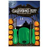 The Ultimate Pumpkin Carving Kit with 10 Pop-Out Stencils FunWorld 6479