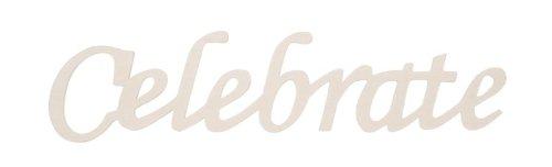 Blessed Shadow Box Frame - Darice 9110-27 Wood Script Word, Celebrate