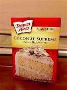 (Duncan Hines Deliciously Moist Coconut Supreme Cake Mix, 16.5 Oz. Box (2 Pack))