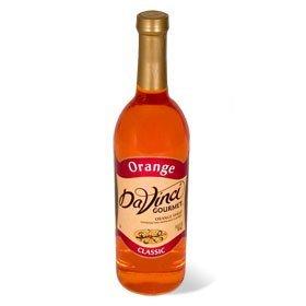 Da Vinci Orange Syrup, 750 ml Bottle -