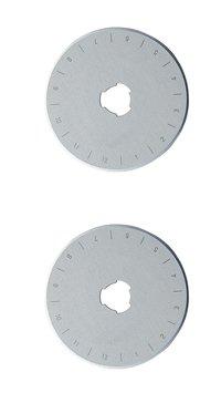 2 packs 28mm DAFA Rotary Cutter Spare Replacement Blade Fits OLFA & FISKARS
