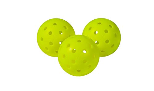Pickleball Marketplace - Franklin X40 Performance Outdoor Balls - 6 Pack - Yellow