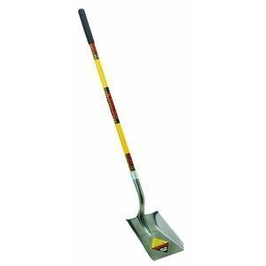 Seymour S701 48-Inch Fiberglass Long Handle Structron Square Point Shovel by Seymour