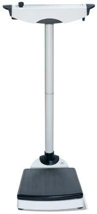 Seca 710 Waist-High Mechanical Beam Scale (420 lb Capacity)
