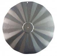 Erva SB5GLV Hanging Disk Squirrel Baffle - Galvanized Finish