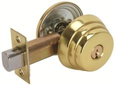 Lockset Arrow (Arrow Lock E61-3-23/8-KD Arrow E61 Deadbolt Us3 2-3/8)