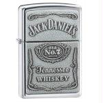 Pewter Jack Daniels Lighter 250JD.427 By: Zippo Manufacturing Miscellaneous