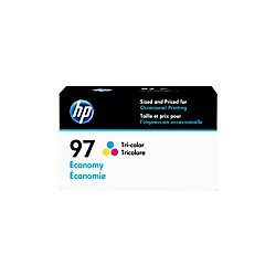 HP 97 Ink Cartridge Tri-Color Economy (D8J32AN) for HP Deskjet 460 6830 6840 6940 6988 9800 HP Officejet 100 150 H470 7210 7310 - All Hp One 7210 Toner In