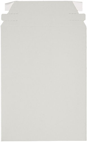 Pratt MJ-1 Self-Seal Stay Flat Mailer, White, 6