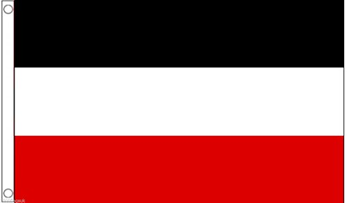 German Empire 1871 to 1919 Flag 5'x3'  - Woven Polyester