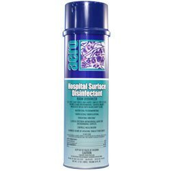 Hospital Surface Disinfectant & Room Deodorizer, 17 oz - Case of 12