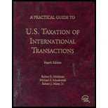 Practical Guide to US Taxation of International Transactions, Meldman, Robert E. and Schadewald, Michael S., 080801076X