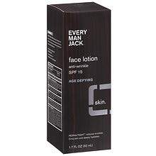 Every Man Jack Age Defying Face Lotion SPF 15 1.7 oz 1 pack