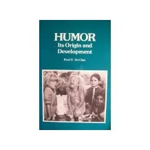 Humor, Its Origin and Development