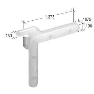 CRL Right Nylon Swivel Key - 1.250