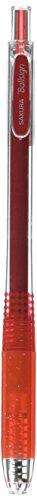 Sakura Knock Gel Ink Ballpoint Pen, Ball Sign Knock, Glitter Red (GBR158#719)
