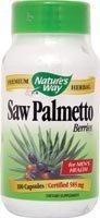 Saw Palmetto Berries 585mg Nature's Way 100 Caps