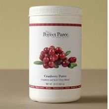 The Perfect Puree Cranberry Puree, 30 Ounce -- 6 per case.