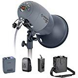 Neewer VL-300 Plus AC/DC Dual-Power Support 300W GN65 Strobe Studio Flash with Built-in 2.4G Receiver (Trigger Included), Recycle in 0.8-2.5 seconds, with 3300mAh Battery Pack, Bowens Mount