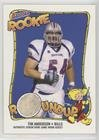 2004 Bazooka Rookie Card - Tim Anderson (Football Card) 2004 Bazooka - Rookie Roundup Jerseys #RR-TA
