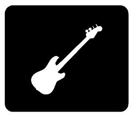 BASS GUITAR Vinyl Decal 2136 Great For Car Truck SUV Windows Gear
