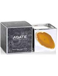 Zodax OROBLANCO Silver Agate 8 oz Scented Jar Candle by Zodax