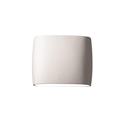 Justice Design Group Ambiance Collection 2-Light Wall Sconce - Bisque Finish Bisque Living Room Set