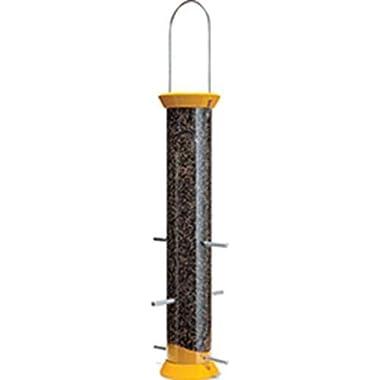 Droll Yankees 021964410735 DROCJTHM15Y 6 Port Yellow Finch Flocker Nyjer Feeder, 15 ,