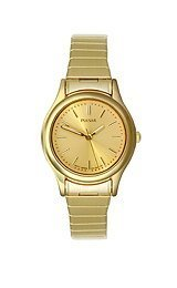 Pulsar 3-Hand Gold-Tone Expansion Band Women's watch #PRS504X