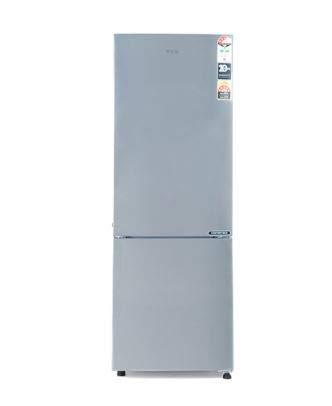 Haier 276L 3 Star Bottom Mount Double Door Refrigerator  HRB 2963CSS E Shiny Steel  Refrigerators