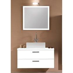 Iotti A14-Wenge-637509898793 Aurora Collection Bathroom Vanity, Wenge
