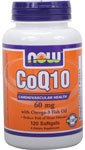 NOW Foods - CoQ10 Cardiovascular Health with Omega-3 Fish Oil 60 mg - 120 Softgels Discount