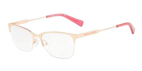 - Eyeglasses Exchange Armani AX 1023 3167 MATTE ROSE GOLD
