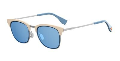 Fendi FF FF 0228/S Silver Blue Sunglasses