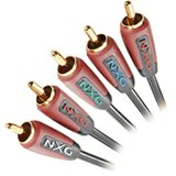 - Nxg Basix Component Vide Stereo AUD Cable 2M