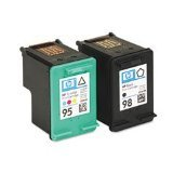 Remanufactured Ink Remanufactured Ink Cartridge Replacement for HP No.98 (Black,Tri Color,3-Pack) (95 98 Hp Ink Cartridge)