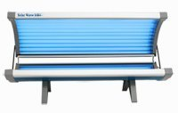 Solar Wave 16 Bulb Wolff Systems Tanning Bed with High Out-put Lamps