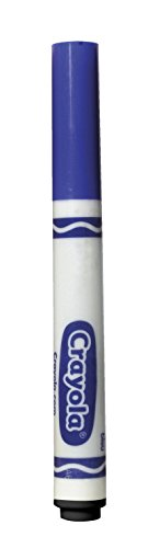 Crayola 12 Count Original Bulk Markers, Blue 58-7700-042