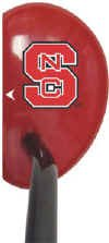 Datrek Putter (NCAA North Carolina State Wolf Pack Right Hand Logo Mallet Golf Putter)