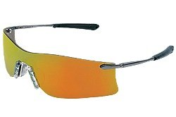 Mcr Safety Crews T411R Rubicon Safety Glasses Metal Templ...