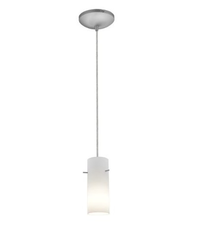 Brushed Stainless Steel Cylinder Pendant Light Shade in US - 8